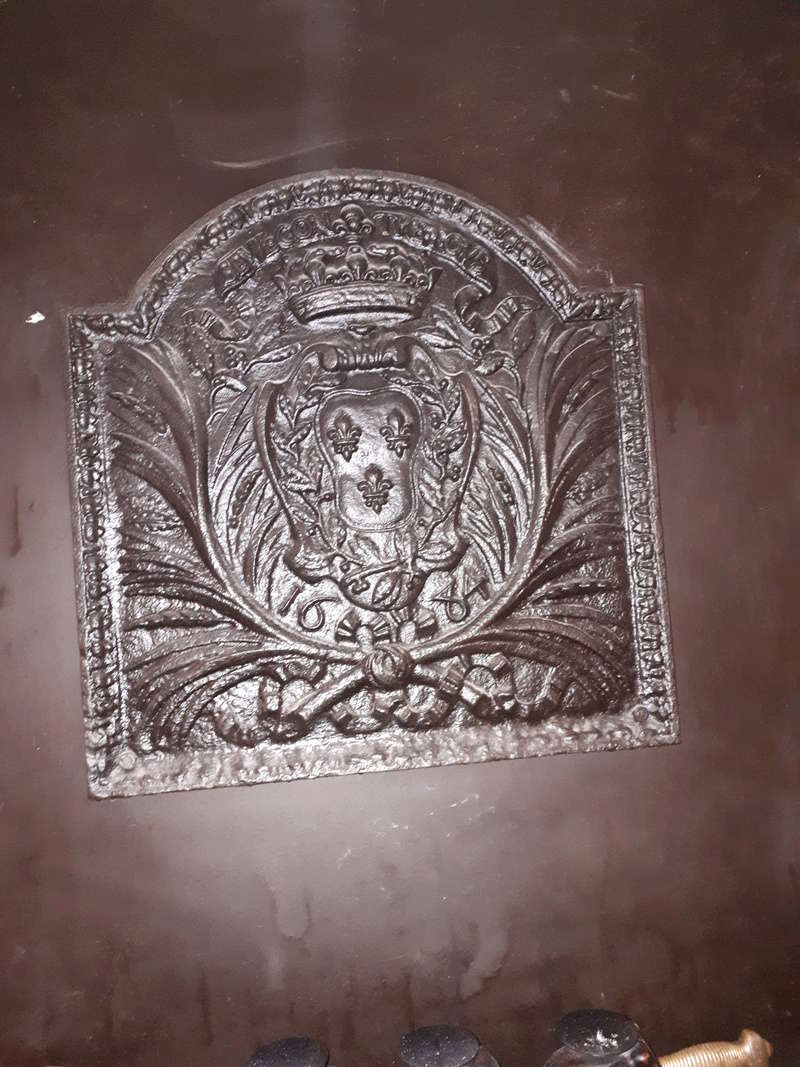 superbe plaque en fonte 1684 20180313