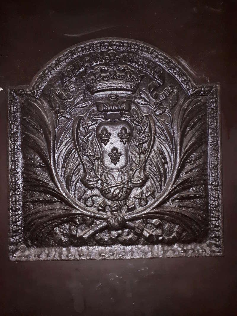 superbe plaque en fonte 1684 20180315