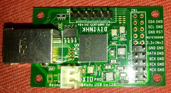 HDAC: assemblaggio scheda Xmos111