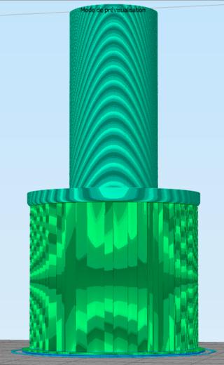 [Impression 3D] débuter : Retirer les supports d'un objet 211
