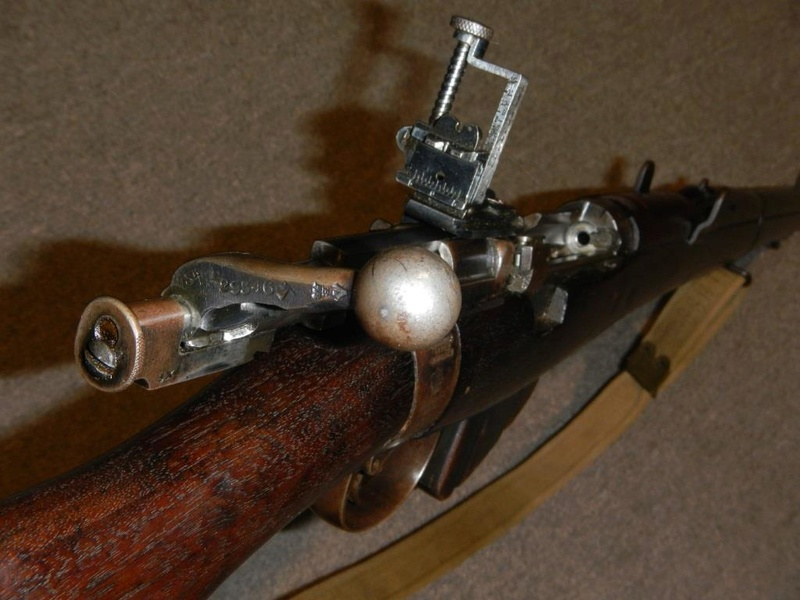 .22 RF Pattern 1914 Short Rifle No. 1 avec une mire arrière canadienne No. 10A 10_cop10