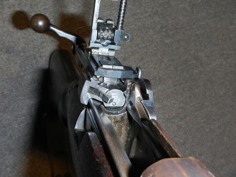 .22 RF Pattern 1914 Short Rifle No. 1 avec une mire arrière canadienne No. 10A 11_cop10
