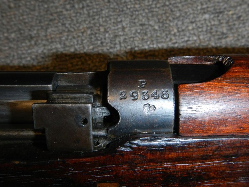 .22 RF Pattern 1914 Short Rifle No. 1 avec une mire arrière canadienne No. 10A 12_cop10