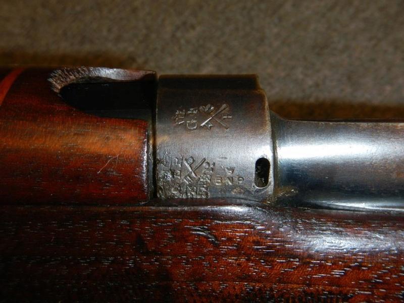 .22 RF Pattern 1914 Short Rifle No. 1 avec une mire arrière canadienne No. 10A 13_cop10