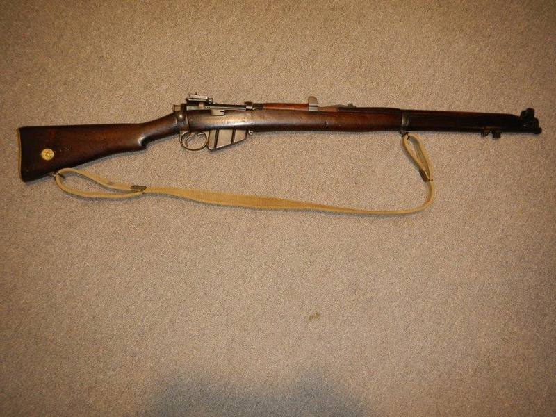 .22 RF Pattern 1914 Short Rifle No. 1 avec une mire arrière canadienne No. 10A 1_copy10