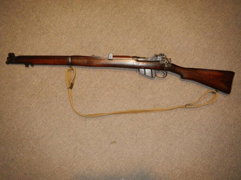 .22 RF Pattern 1914 Short Rifle No. 1 avec une mire arrière canadienne No. 10A 2_copy10