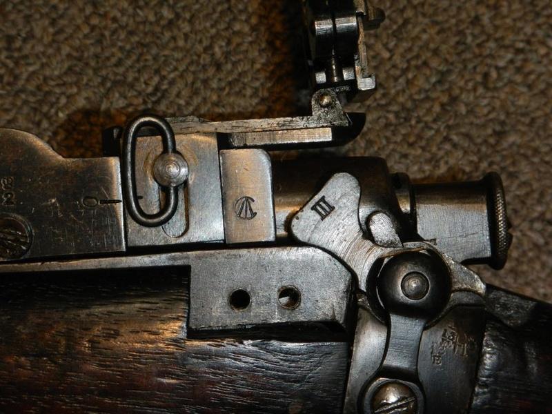 .22 RF Pattern 1914 Short Rifle No. 1 avec une mire arrière canadienne No. 10A 4_copy10