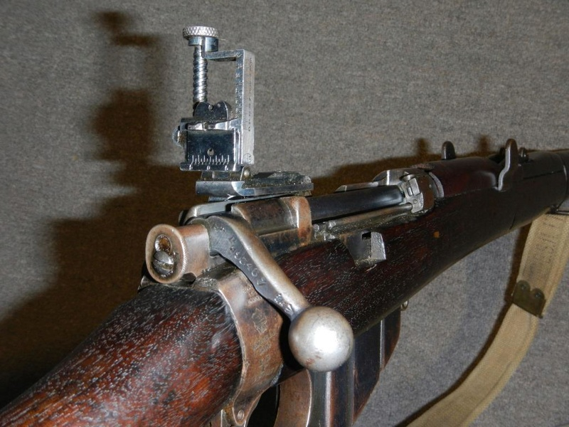.22 RF Pattern 1914 Short Rifle No. 1 avec une mire arrière canadienne No. 10A 6_copy10