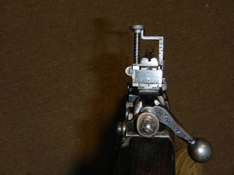 .22 RF Pattern 1914 Short Rifle No. 1 avec une mire arrière canadienne No. 10A 7_copy10