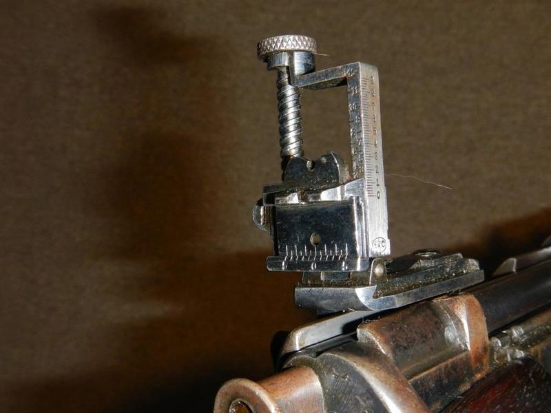 .22 RF Pattern 1914 Short Rifle No. 1 avec une mire arrière canadienne No. 10A 8_copy10