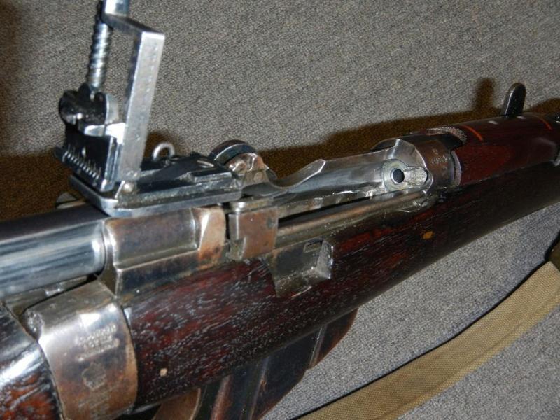 .22 RF Pattern 1914 Short Rifle No. 1 avec une mire arrière canadienne No. 10A 9_copy10