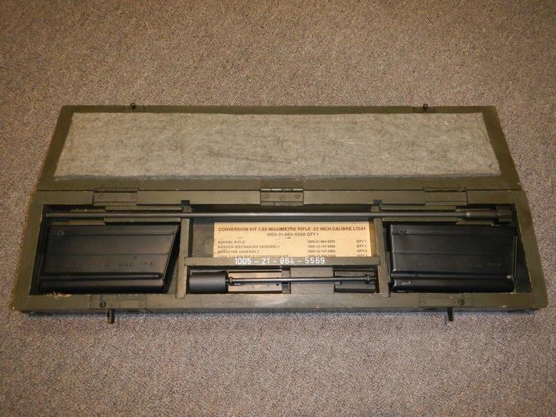 Nécessaire de transformation du fusil de 7.62 mm modèle FN C1A1 en calibre .22 Dscn2314