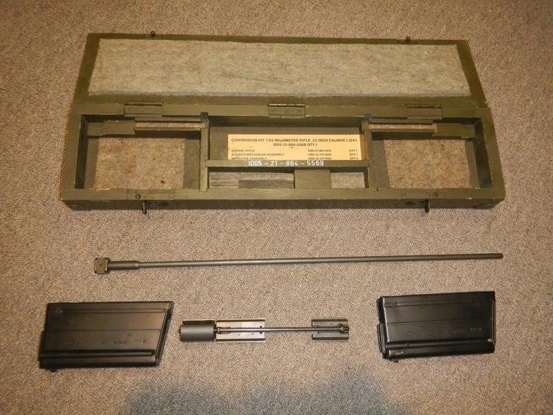 Nécessaire de transformation du fusil de 7.62 mm modèle FN C1A1 en calibre .22 Dscn2315