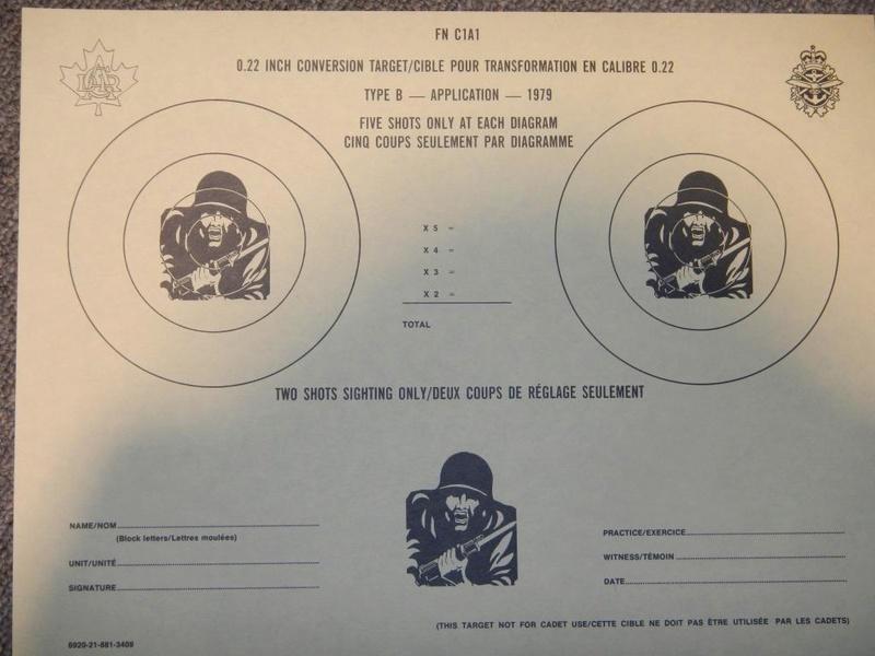 Nécessaire de transformation du fusil de 7.62 mm modèle FN C1A1 en calibre .22 Dscn2327