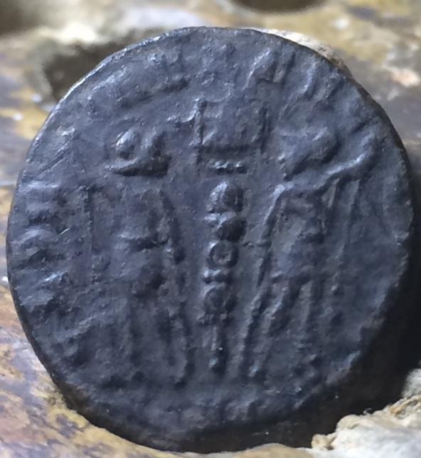 AE4 de Constante. GLORIA EXERCITVS. Lyon? Img_1434