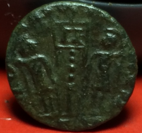 AE4 de Constancio II. GLORIA EXERCITVS. Trier Img_2035