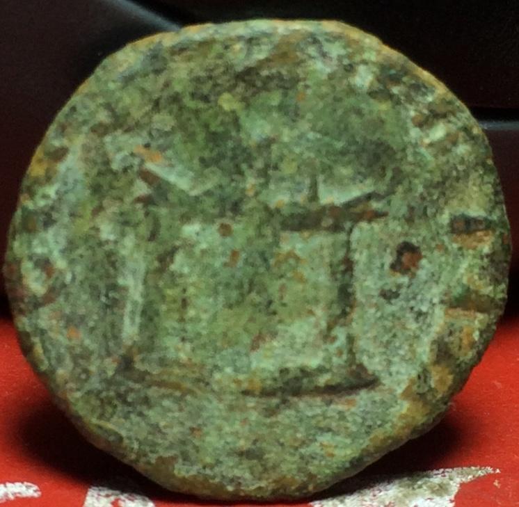 Antoniniano de imitación Hispánica de Claudio II. CONSECRATIO. Altar Img_2125