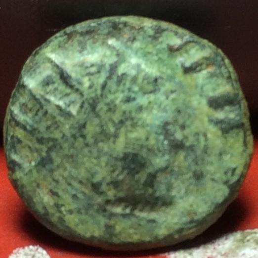 Radiado póstumo de Claudio II. CONSECRATIO. Águila Img_2129