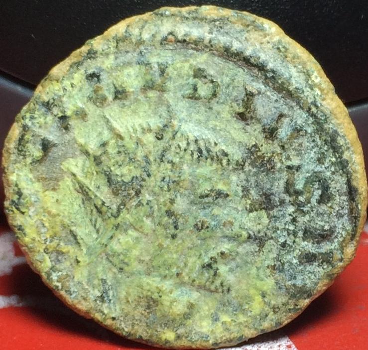 Antoniniano de Claudio II. P M TR P II COS P P. Roma Img_2134