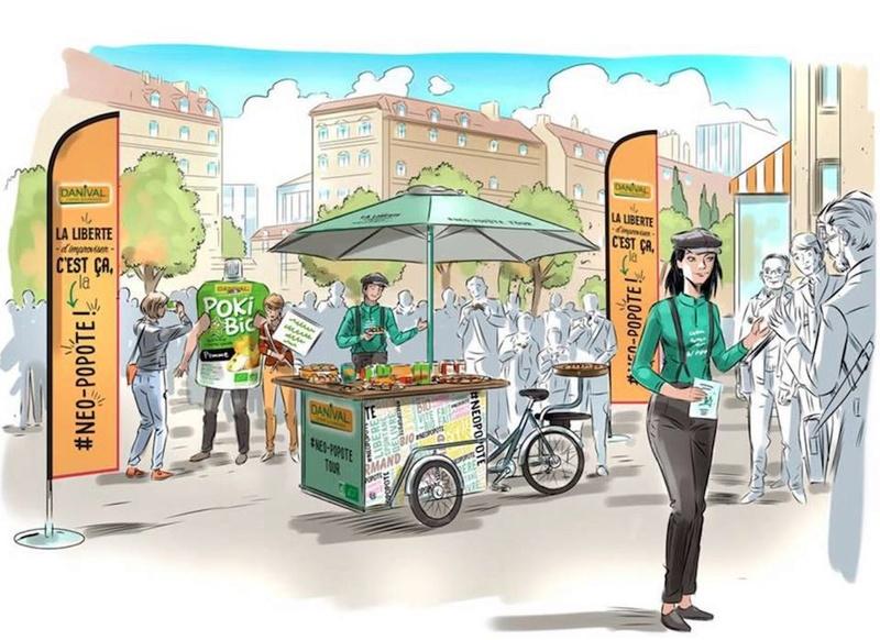 Le néo-popote Tour Danival fera étape à Lyon les 30 et 31 mars   Visuel10