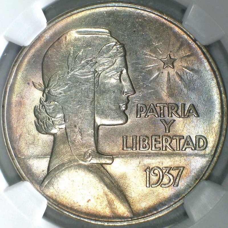 """1 Peso """"ABC"""". Cuba. 1935. Philadelphia 13583911"""