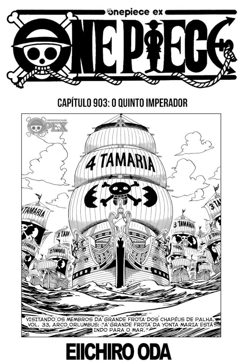 Luffy: Novo Imperador dos Mares 0110