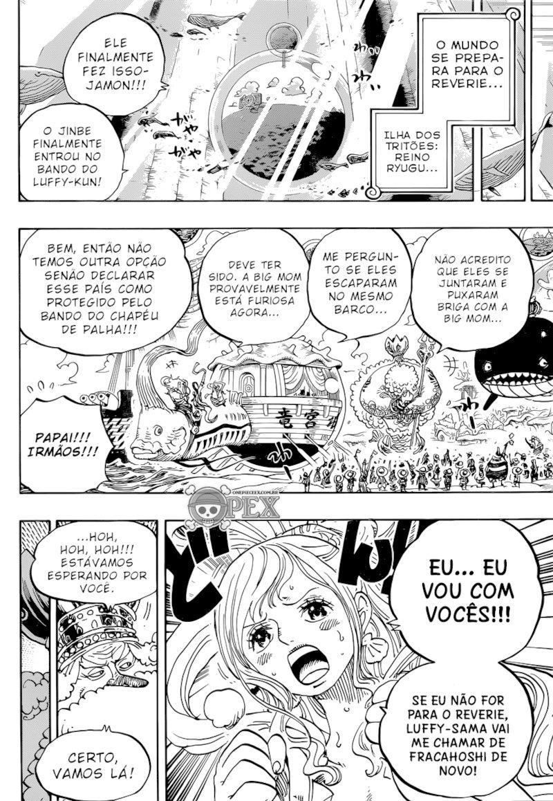 Luffy: Novo Imperador dos Mares Zeno10