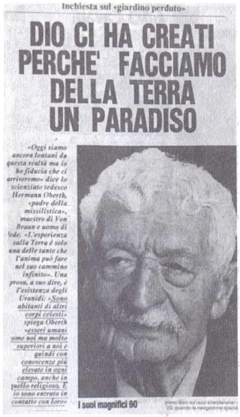 """Куда идешь человечество?"" - Орацио Валенти - 1992. 1210"