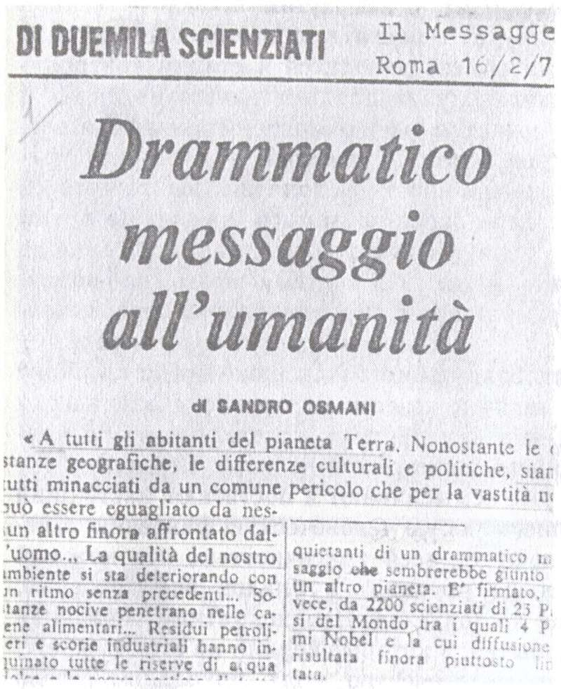 """Куда идешь человечество?"" - Орацио Валенти - 1992. 2910"