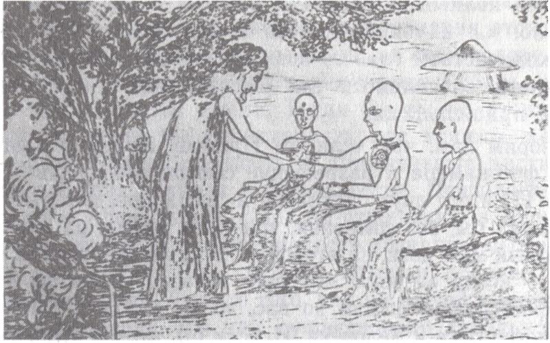 """Куда идешь человечество?"" - Орацио Валенти - 1992. 910"