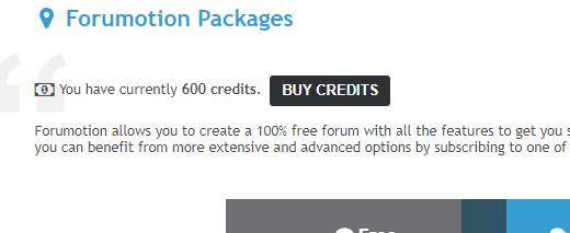 Discover Forumotion Packages: the new way to evolve your forums 0af4a110