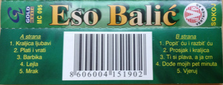 Eso Balic - Diskografija R-102310