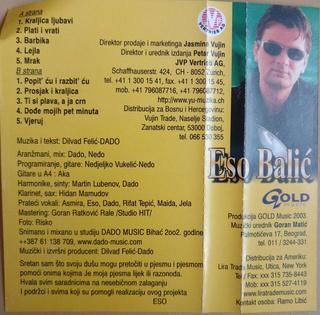 Eso Balic - Diskografija R-102313