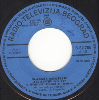 Sladjana (Aleksandra) Milosevic - Diskografija  R-102411