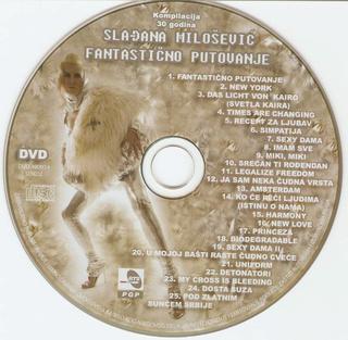 Sladjana (Aleksandra) Milosevic - Diskografija  R-130810