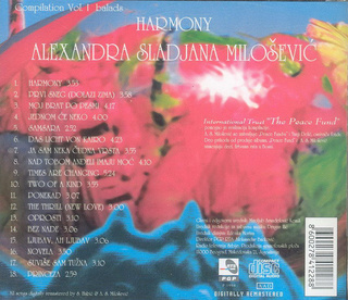 Sladjana (Aleksandra) Milosevic - Diskografija  R-326310