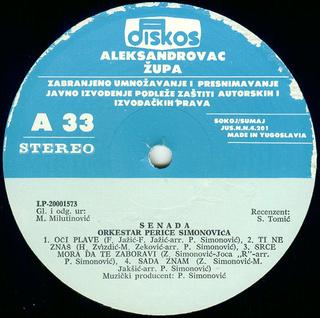 Senada Redzic - Diskografija  R-619811