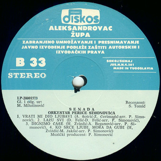 Senada Redzic - Diskografija  R-619813