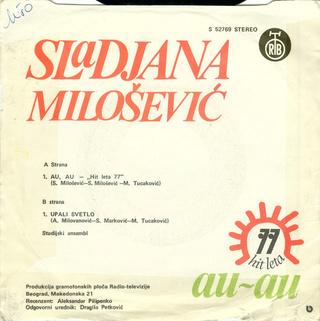 Sladjana (Aleksandra) Milosevic - Diskografija  R-764111