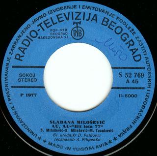 Sladjana (Aleksandra) Milosevic - Diskografija  R-764112