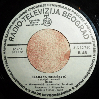 Sladjana (Aleksandra) Milosevic - Diskografija  R-826313