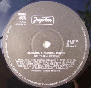 Sladjana (Aleksandra) Milosevic - Diskografija  R-895813