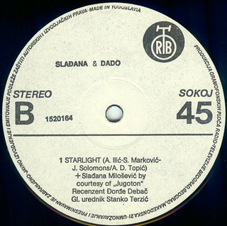 Sladjana (Aleksandra) Milosevic - Diskografija  R-910013