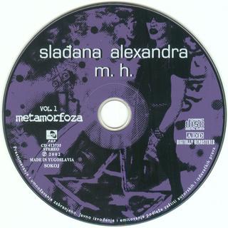Sladjana (Aleksandra) Milosevic - Diskografija  R-976512
