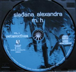 Sladjana (Aleksandra) Milosevic - Diskografija  R-977311