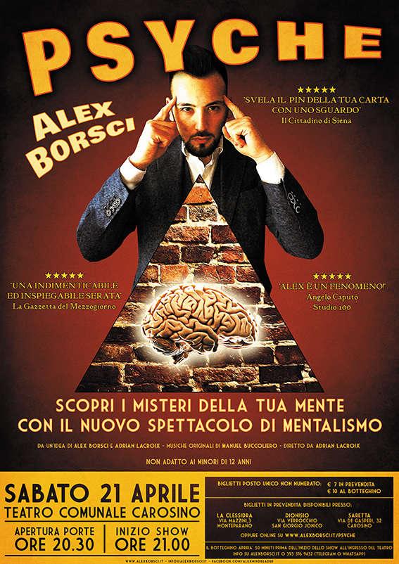 Alex Borsci: PSYCHE (spettacolo di Mentalismo) Alex_b10