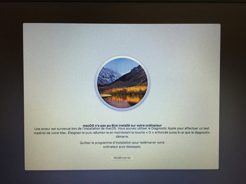 MacOS n'a pas pu être installé Img_3612