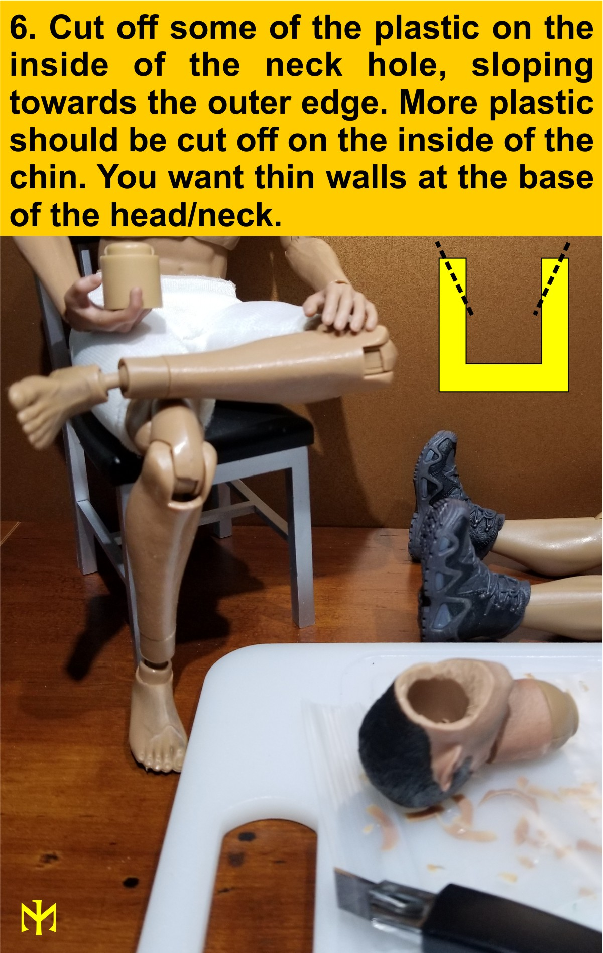 Head Conversion Tutorial (updated with Part III - June 2019) Deneck16
