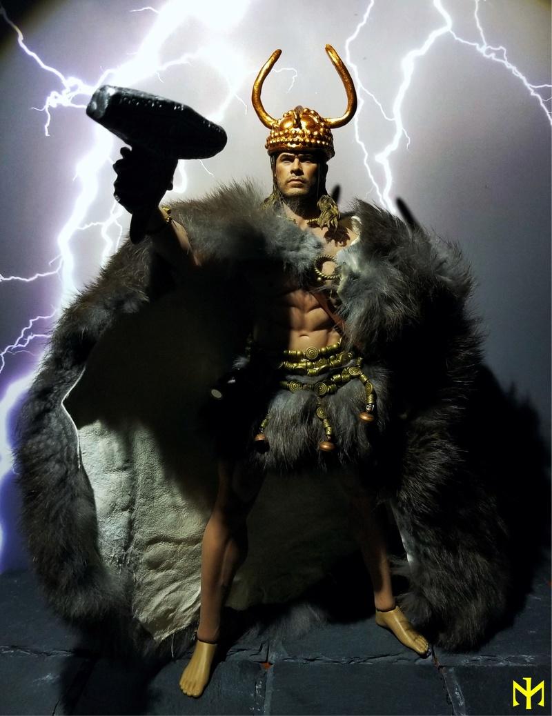"hair - Converting Christ Hemsworth ""Fat Viking"" head from Woo Toys (updated) M3540c10"