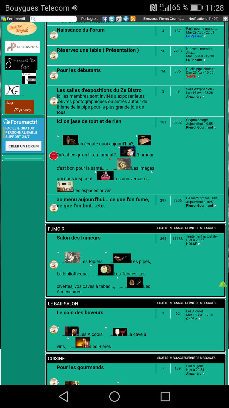 Le forum tel que vous le voyez.... Screen10